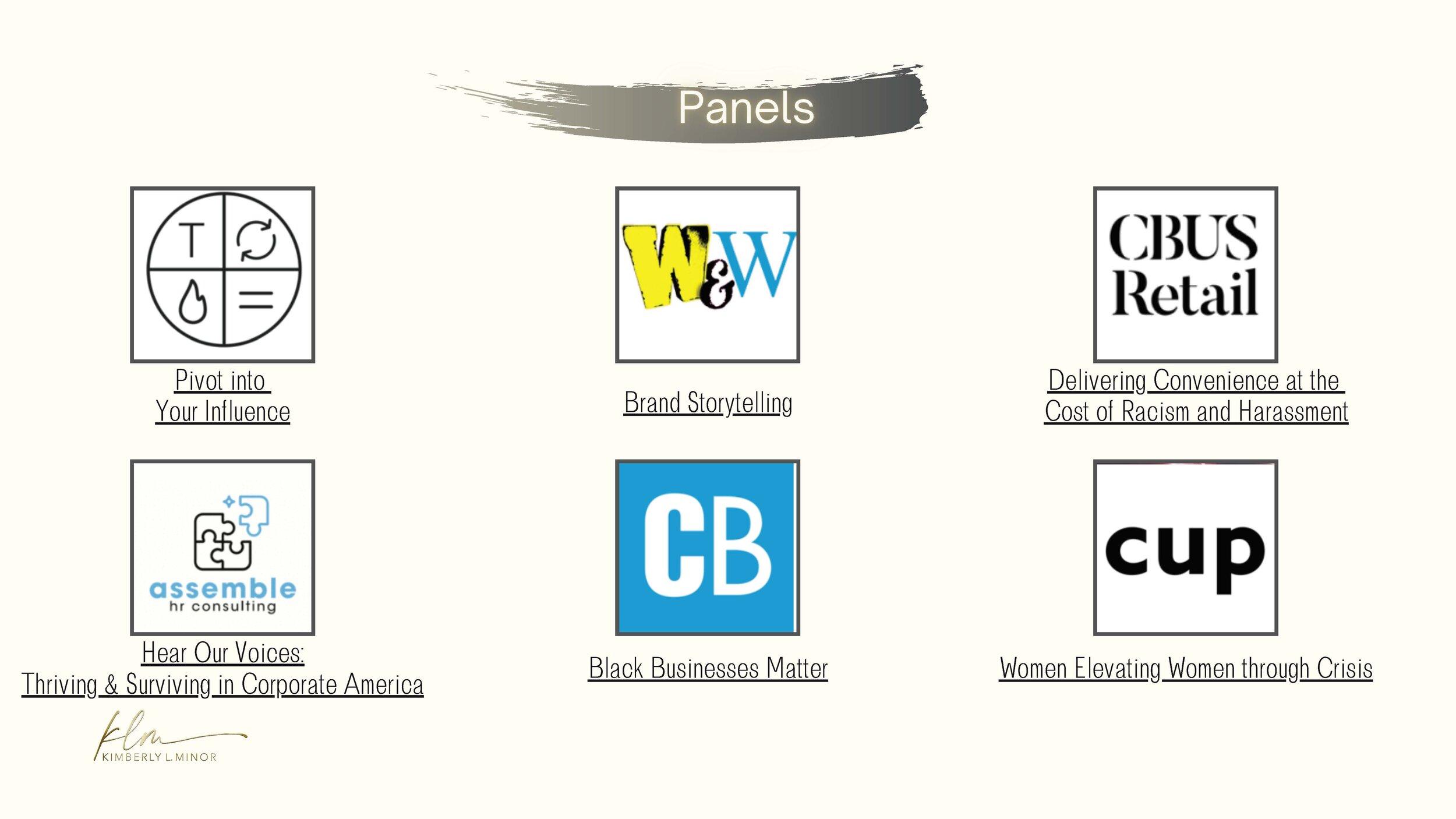 Panels logo list